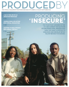 August/September issue of Produced By Magazine